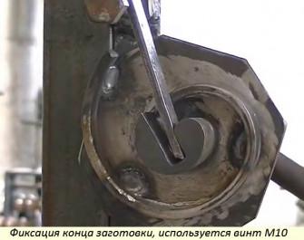 Как сделать своими руками станок Улитка для холодной ковки?