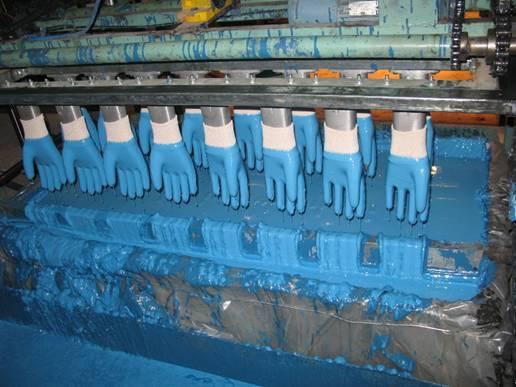 Станок для производства перчаток