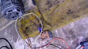 Запускк самодельного бензогенератора с конденсатором