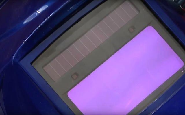 Солнечные батареи в маске-хамелеон