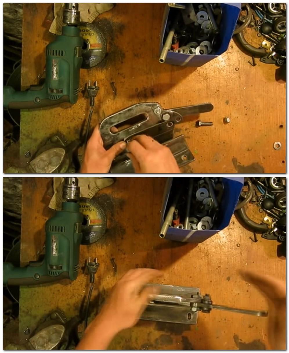 Гильотина для резки металла своими руками: ручная и