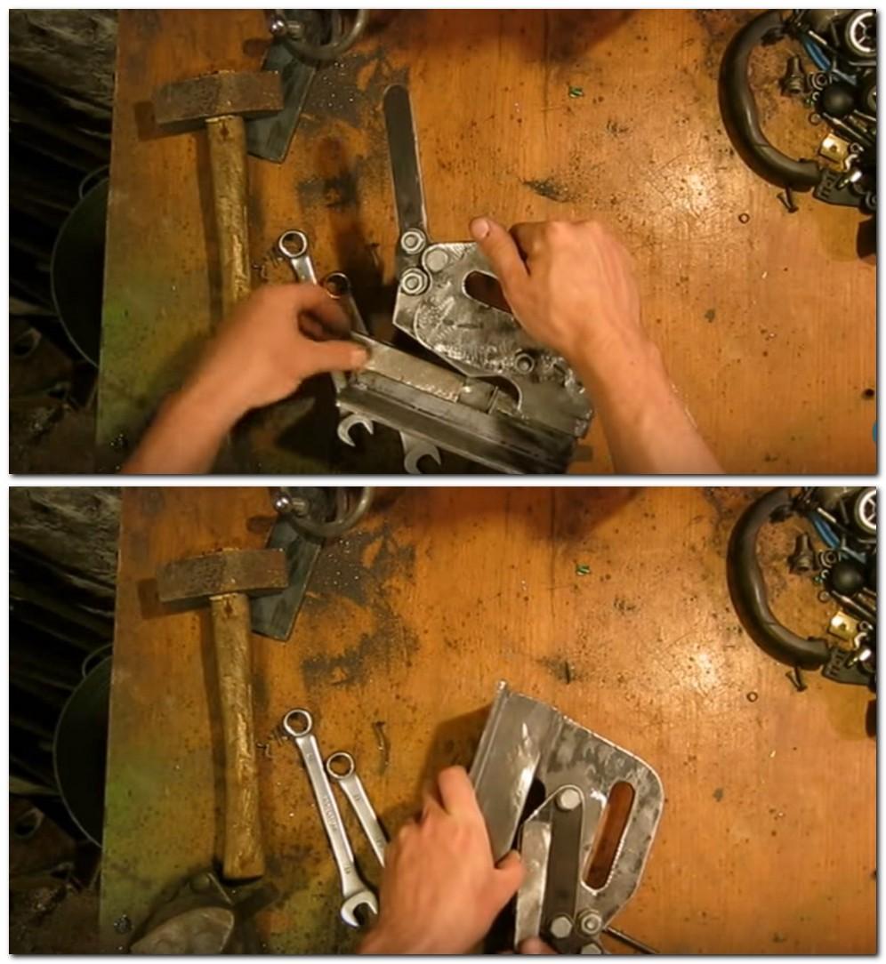 Гильотина для резки металла своими руками: ручная и 90