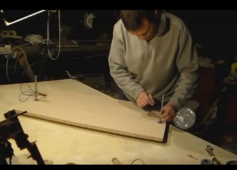 станок для вырезания из пенопласта