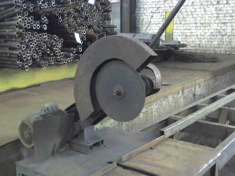 Отрезной дисковый станок по металлу своими руками
