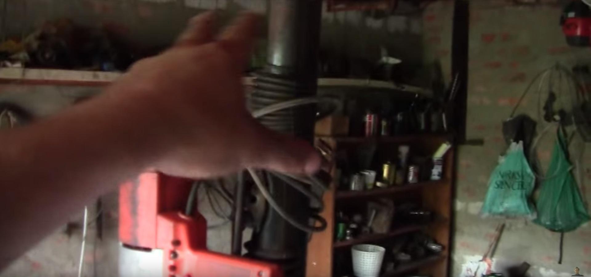 Чертеж сверлильного станка из рулевой рейки