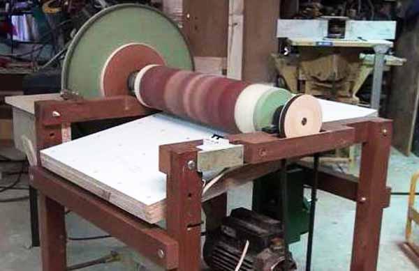Как сделать барабанный шлифовальный станок своими руками