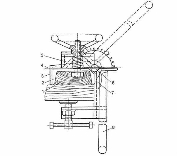 Гибочный станок для листового металла