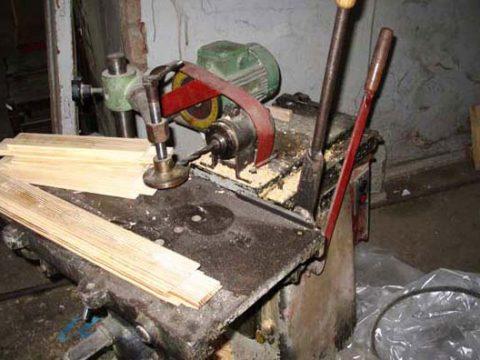 Изготовление долбежного станка по дереву