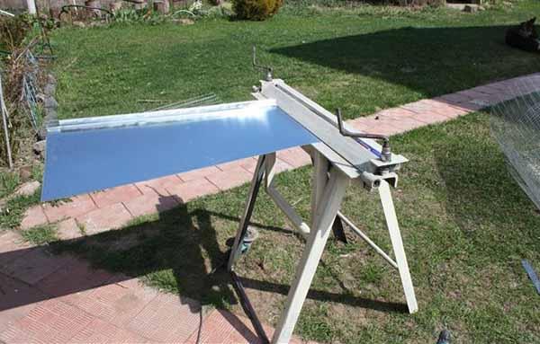 Как сделать гибочный станок для листового металла фото 654