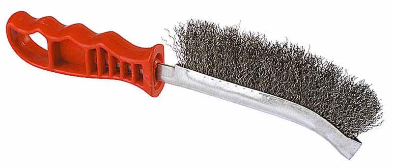 Ручная щетка для удаления ржавчины