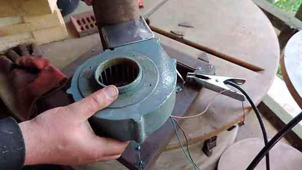 Предварительная подгонка вентилятора