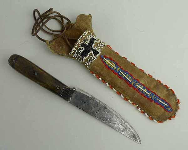 Индейский нож