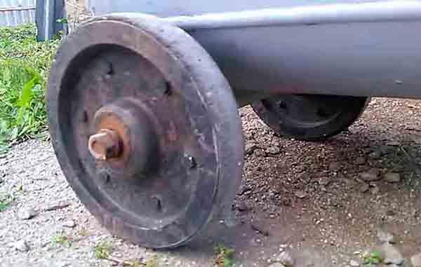 Колеса для перевозки